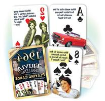 1964 Flickback Trivia Playing Cards: Birthday Gift or