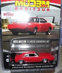 GL Muscle 1969 Dodge HEMI Charger Daytona Mecum Auctions 2015 Greenlight Collectibles Limited Edition Hobby Exclusive 1:64 Scale Die-Cast Vehicle