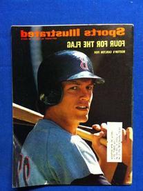 1972 Sports Illustrated September 25 Carlton Fisk  Boston