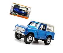 1973 Ford Bronco Blue 1/32 by Jada 97314