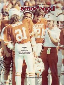 1982 Missouri Tigers vs Texas Longhorns Program
