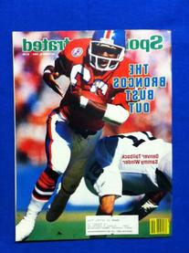 1984 Sports Illustrated October 8 Sammy Winder Denver