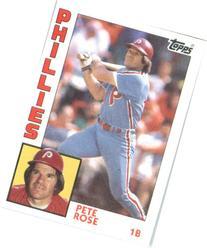 1984  #300 Pete Rose Philadelphia Phillies Baseball Card