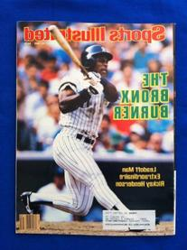 1986 Sports Illustrated July 28 Rickey Henderson : The Bronx