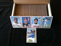 1989 Bowman Baseball Complete 484 Card Set with Ken Griffey