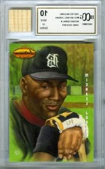 1994 Ted Williams #DG1 Michael Jordan Baseball Rookie with a