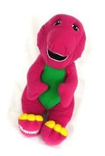 1996 Talking Barney Plush