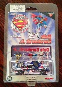 1999 Dale Earnhardt Jr Signed #3 SUPERMAN AC DELCO 1/64