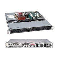 Supermicro Black 1U 350W Rackmount Server Chassis CSE-813MTQ