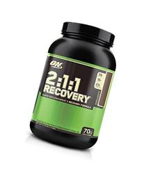 Optimum Nutrition 2:1:1 Recovery, Colossal Chocolate, 3.73-