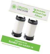 Think Crucial 2 Replacement for Eureka DCF-1, DCF-4 & DCF-18