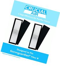 2 Germguardian Air Purifier HEPA Filter B FLT4825, Fits