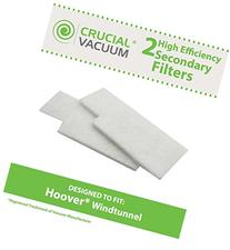 2 Hoover WindTunnel Secondary Filters Fit Hoover Tempo