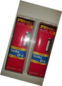 2 PACK - 3M Filtrete Eureka EF-6 HEPA
