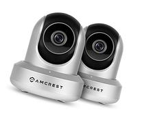 2-Pack Amcrest HDSeries 720P WiFi Wireless IP Security