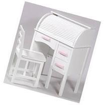 "2 Piece Jr. Roll Top 27"" Writing Desk Set- Makes An Elegant"