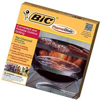 2 Pk, BIC Charcoal Alternative FlameDisk
