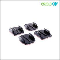 2+2/Pack Flat and Curved Adhesive Mounts for GoPro HERO3+ 3