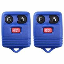 2 KeylessOption Blue Replacement 3 Button Keyless Entry