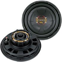 "2) BOSS D10F 10"" 1600W Shallow Slim Car Audio Subwoofers"
