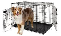 Petmate 34-Inch 2-Door Training Retreats Wire Kennel for