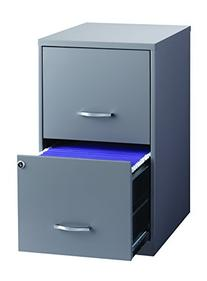 Space Solutions 2-Drawer File Cabinet, 18-Inch Deep,