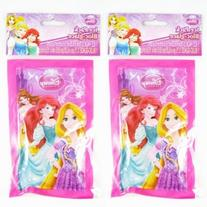 2 Ice Packs Disney Princess Reusable Cold Bags Pain Therapy