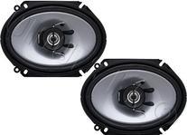 """2) Kenwood KFC-C6865S 6x8"""" 250 Watt 2-Way Car Audio Coaxial"""