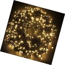 2 Packs 24V Excelvan 328ft/100m 500 LED Christmas Lights