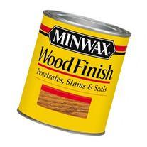 Minwax 22250 1/2 Pint Red Mahogany Wood Finish Interior Wood