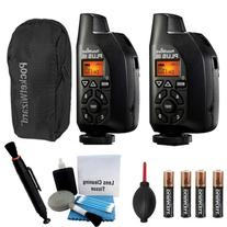 2 Pocket Wizard Plus III Transceiver and Receiver - 801-130