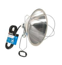 Woods 0166 18/2 SJTW Brooder Clamp Lamp w/ Bulb Guard & 10-
