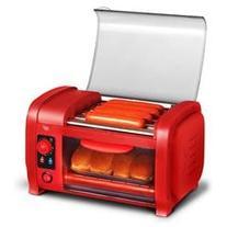 2-Slice Hot Dog Roller Toaster Oven