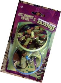 Teenage Mutant Ninja Turtles 2 Spinning Tops Nickelodeon Toy