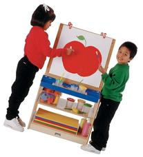 2 Station Easel - School & Play Furniture
