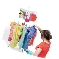 2 Tier Clothes Drying Rack - Laundry Drying Rack for Both