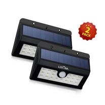 Litom 20 Big LED Solar Sensor Powered Wall Lights
