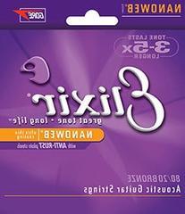 Elixir 11027 Custom Light Guitar Strings 3-Pack