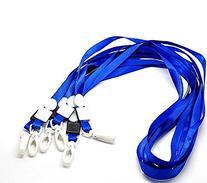 Rockin Beads 20 Economy Kids Blue Neck Strap Lanyard for Id