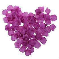 200 Purple Rose Petals