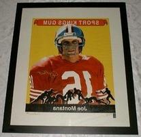 2000 Sport Kings Joe Montana 49ers Authenticated: Global