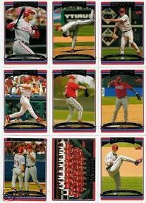 2006 Topps Series 2 PHILADELPHIA PHILLIES Baseball Cards