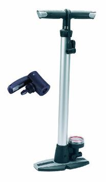2009 Raleigh Steel floor pump Silver