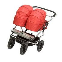 2011 Mountain Buggy Urban Jungle Double Carrycot In Chilli