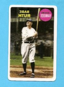 2012 Topps Archives Babe Ruth 3-D # BR New York Yankees