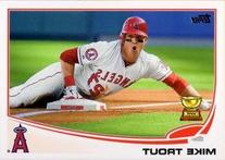 2013 Topps Baseball #27 Mike Trout Card - Topps All Star