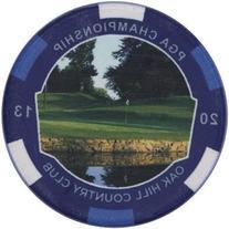 2013 PGA Championship Golf Ball Marker Poker Chip Style