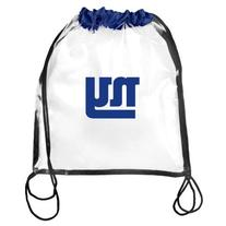 2013 Nfl Football Clear See Thru Drawsring Backpack Bag -