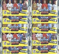 2014/2015 Topps Match Attax Premier League Soccer lot of TEN