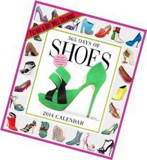 365 Days of Shoes 2014 Wall Calendar